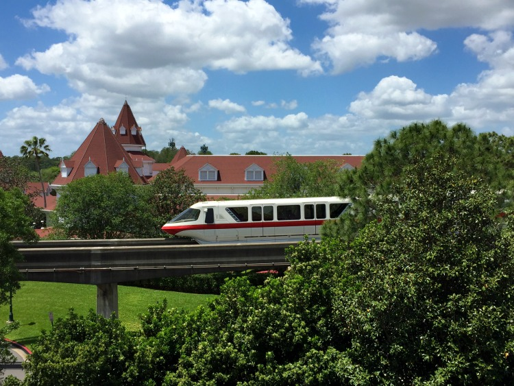 Top Reasons to Stay On-Property at Disney World Resort monorail