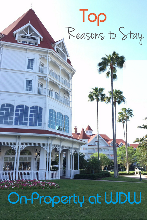 Top Reasons to Stay On-Property at a Disney World Resort