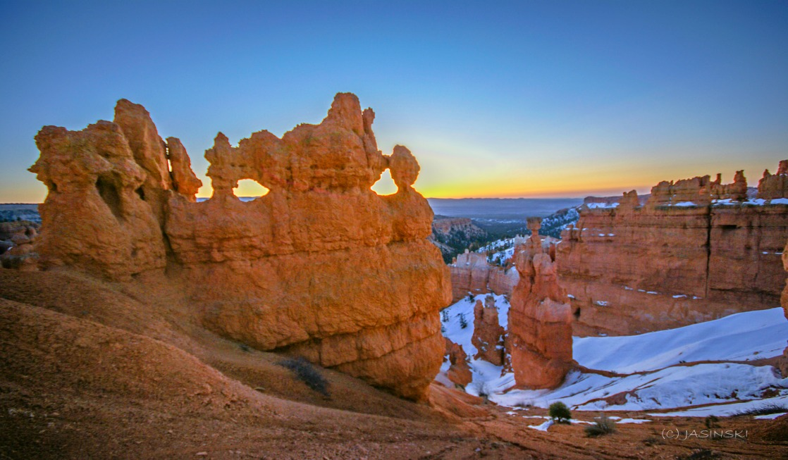 Morning Light at Bryce Canyon National Park
