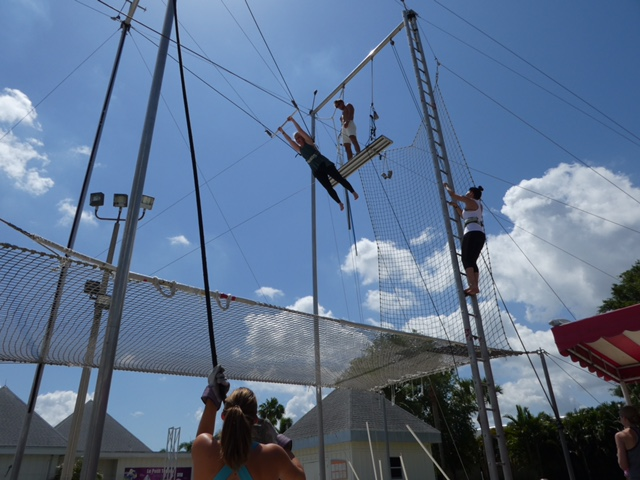 trapese at Club Med Sandpiper Bay in Florida