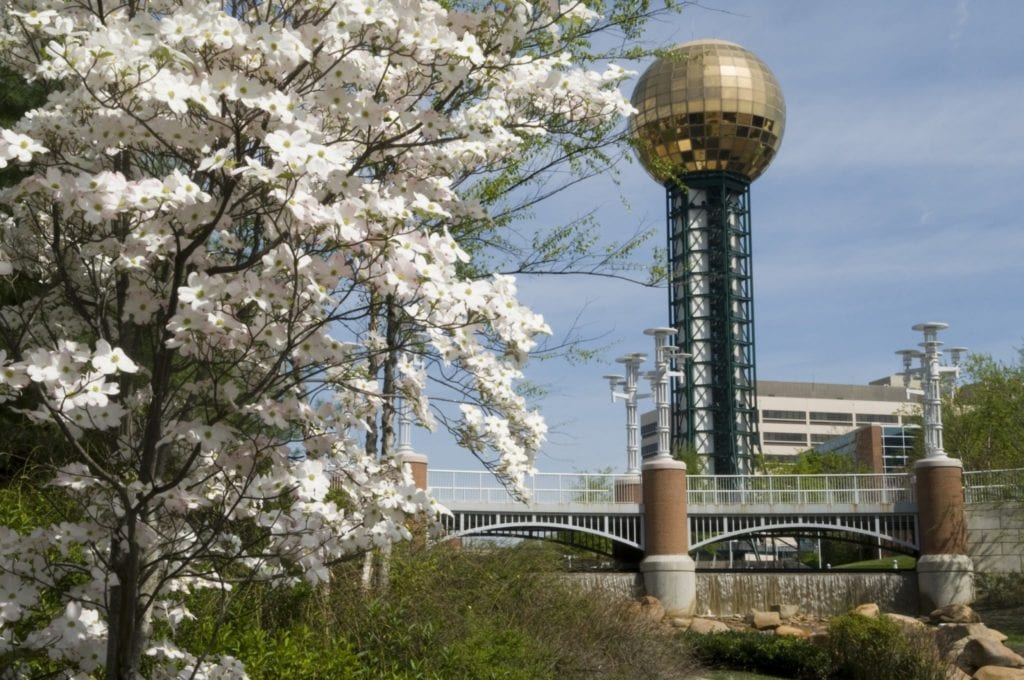 Free things to do in Knoxville TN - Visit the Sunsphere