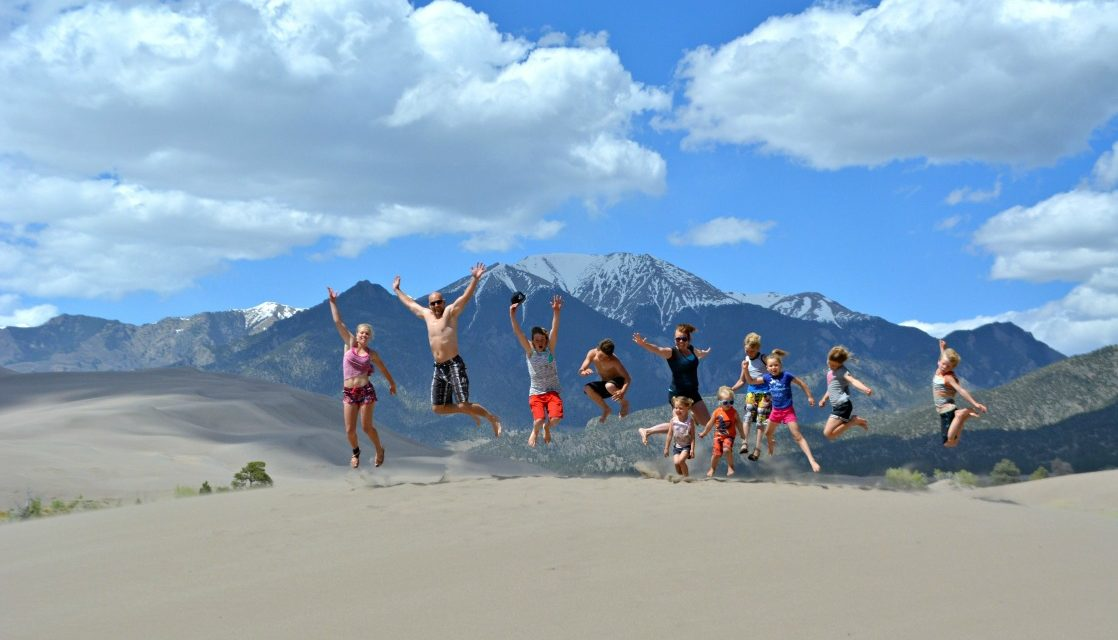 Unplugged Family Adventures in Great Sand Dunes National Park