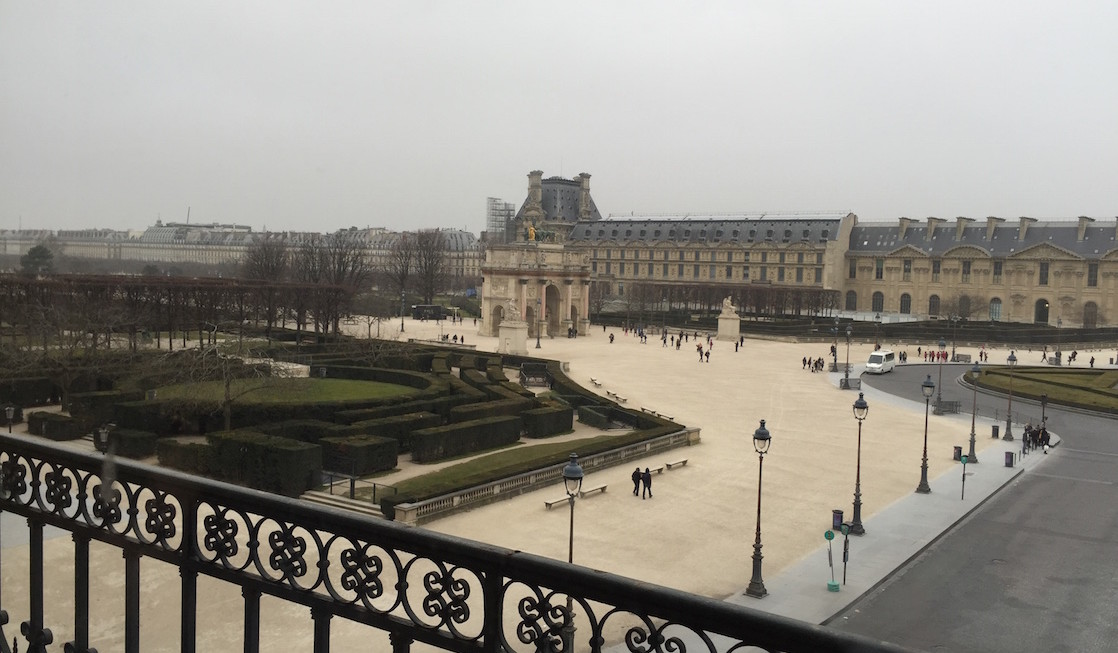gardens of louvre