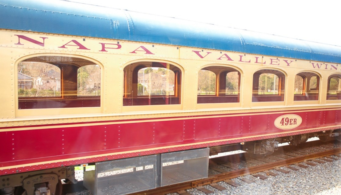 5 reasons to Love the Napa Valley Wine Train