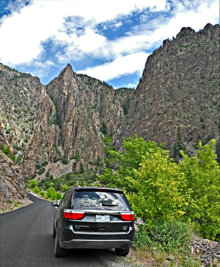 Black Canyon of the Gunnison National Park - renting a car is practically impossible without credit card - photo by Yvonne Jasinski Credit Card TravelingMom