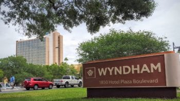 The Wyndham Lake Buena Vista is a recently renovated property across the street from Disney Springs.
