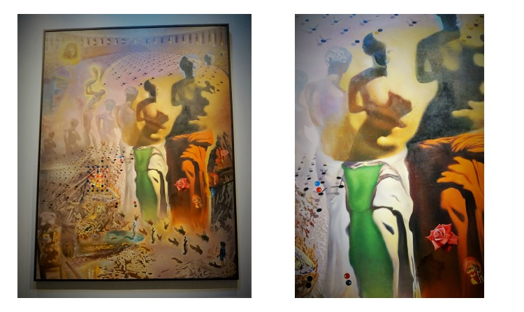 The Hallucinogenic Toreador by Salvador Dali at Dali Museum St. Petersburg - Travel experiences can be much more than just seeing new places.