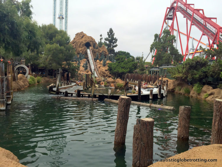 Knotts Berry Farm Brings the Old West to Life for Families log ride