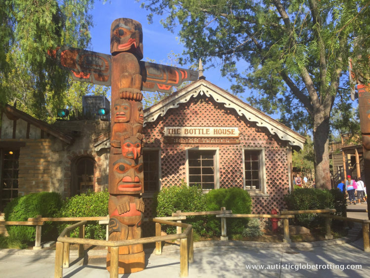 Knotts Berry Farm Brings the Old West to Life for Families bottle house