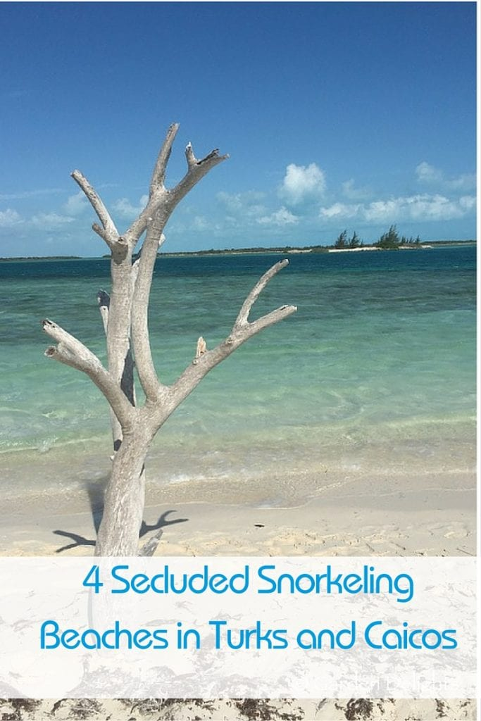 Discover 4 Fabulous, Secluded Snorkeling Beaches in Turks and Caicos.