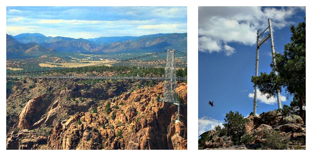 Royal Rush Skycoaster at Royal Gorge, Colorado. Travel experiences can be much more than just seeing new places.