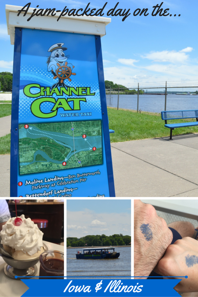 Tour the Mississippi River on the Quad-Cities Channel Cat