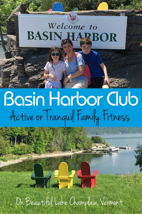 Active or Tranquil Family Fitness at Basin Harbor Club on Lake Champlain