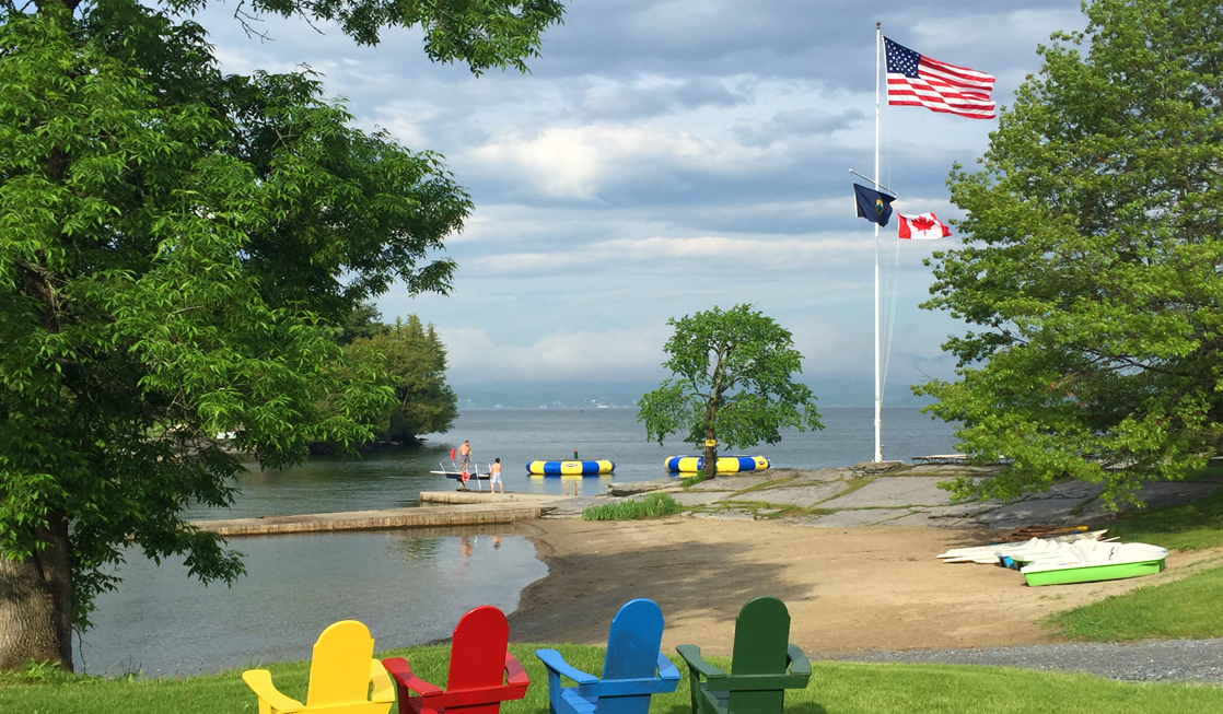 Acitve or Tranquil Family Fitness at Basin Harbor Club on Lake Champlain