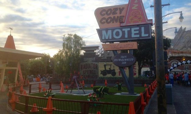 Sally's Cozy Cone Motel Food Options in Disneyland's California Adventure Cars Land