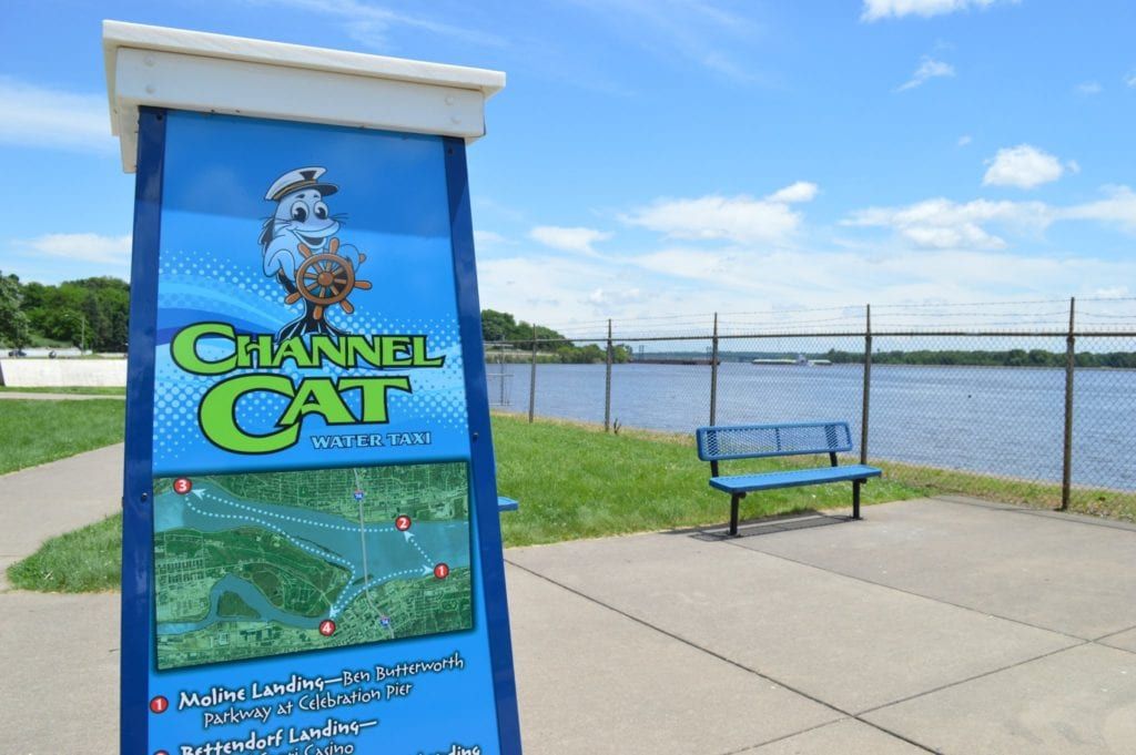 Tour the Mississippi River on the Quad Cities Channel Cat