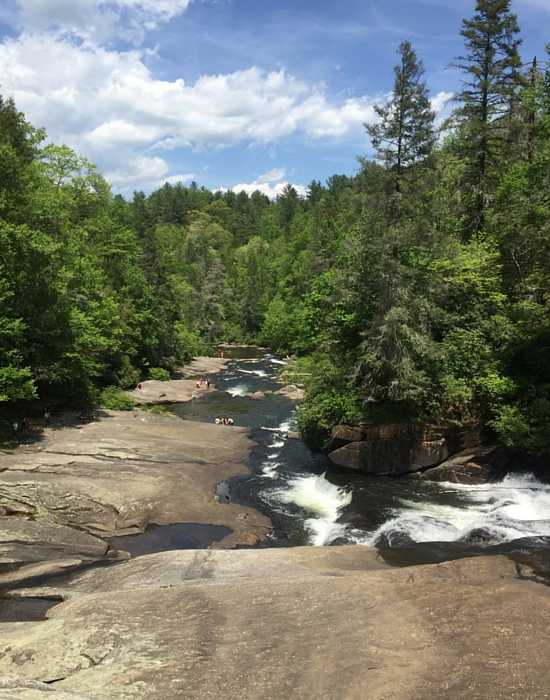 waterfall at Dupont State Park - Grove Park Inn Asheville - Free in Asheville NC