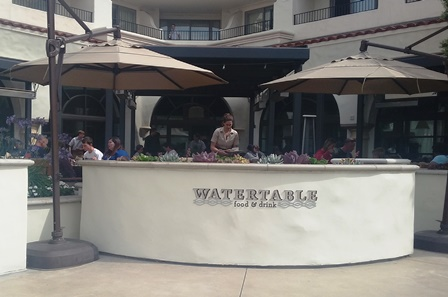Watertable is the resort's premier restaurant at the Hyatt Regency Huntington Beach Resort