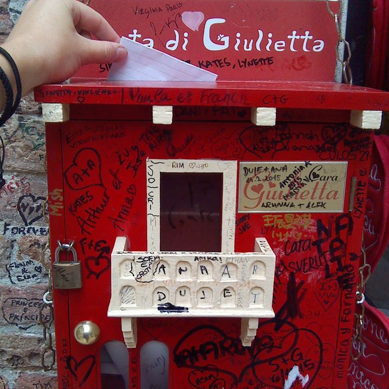 Juliet's Mailbox. Photo Credit: Jessica Lippe