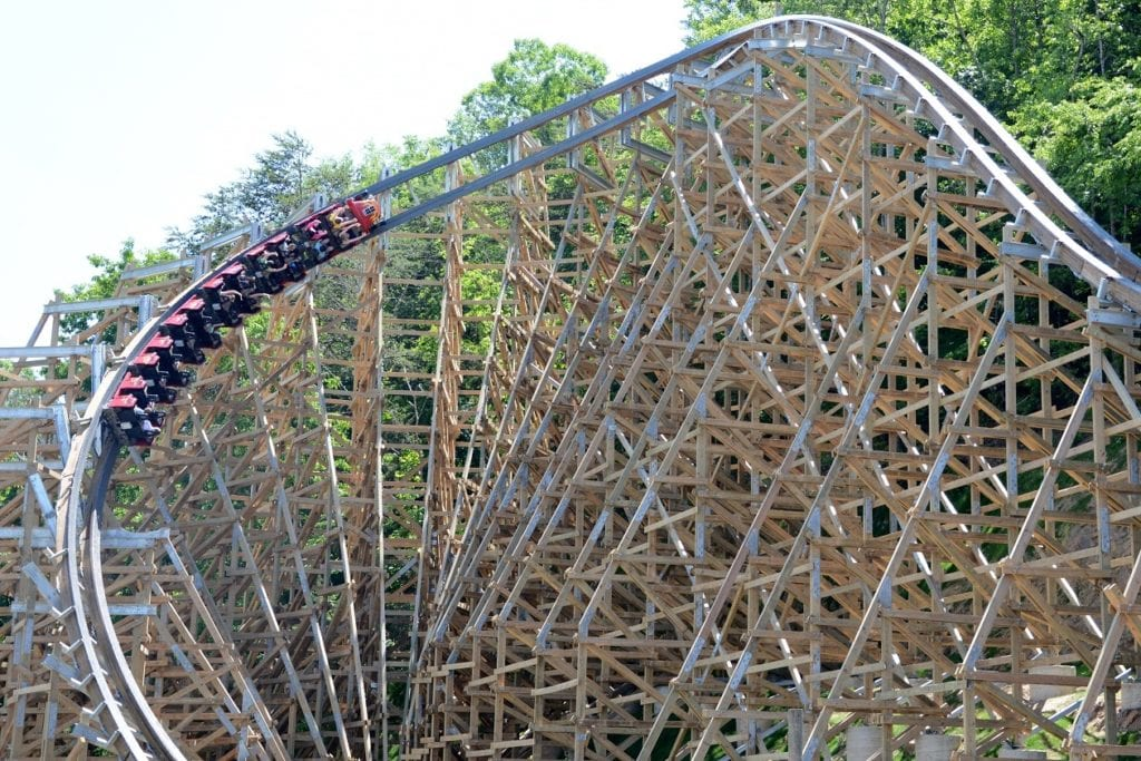 Dollywood's Lightning Rod, the world's fastest wood roller coaster, opens to the public June 13th.