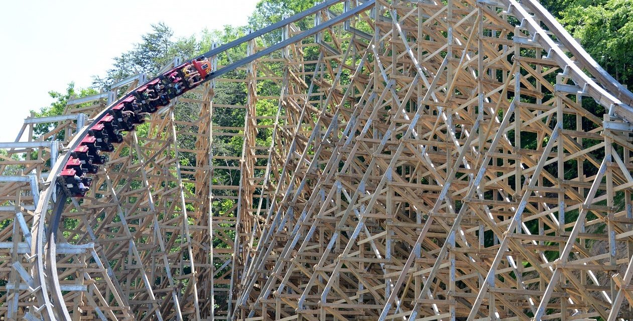 Dollywood's Record-Breaking Lightning Rod Coaster Opens Today