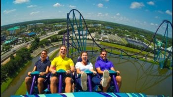 Fastest, tallest, longest coaster in Orlando, Mako Roller Coaster at SeaWorld