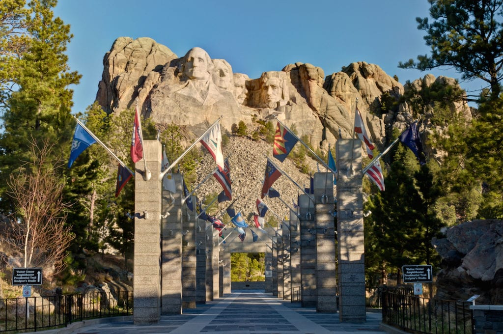 Mount Rushmore, South Dakota, Black Hills,