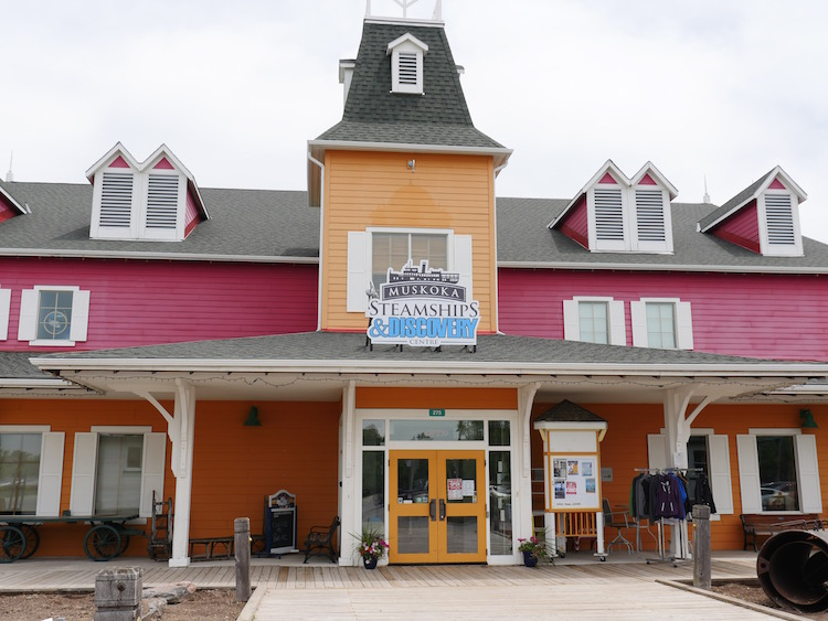 Planning a weekend escape to the family friendly Muskoka Wharf in Gravenhurst, Ontario.