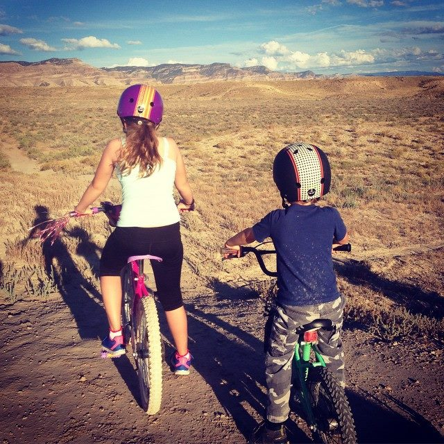 Quality bike helmets for kids when mountain biking