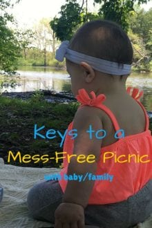 Picnic ideas for a mess-free family picnic