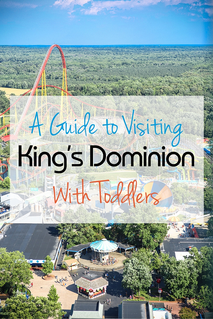 Everything you need to know about visiting King's Dominion with toddlers. Dining tips, ride guides, and more!