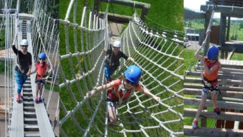 Adventure, Ropes Course, and More at Northern Lights Rock and Ice Vermont