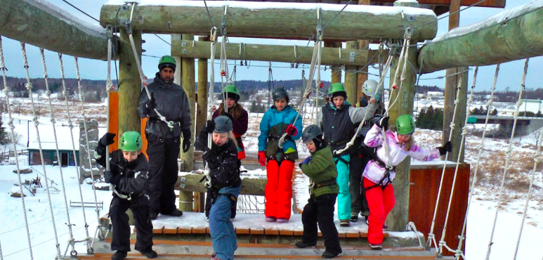 Ropes Courses, Giant Swings and More at Northern Lights Rock and Ice, Essex VT