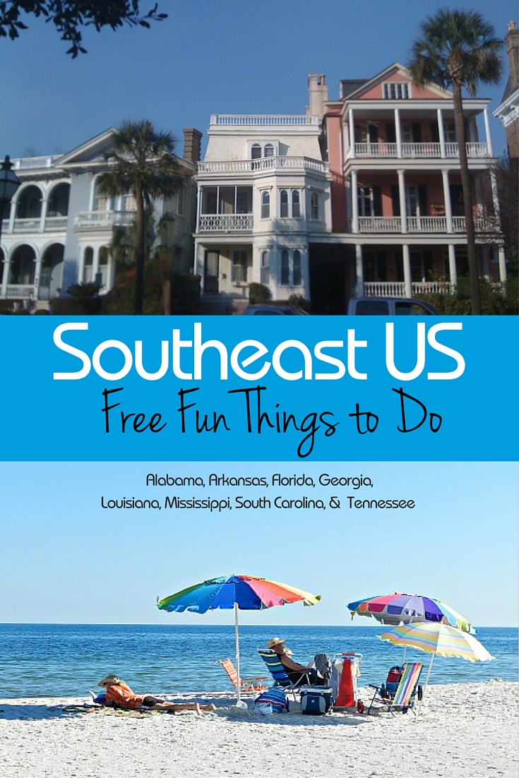 Southeast Fun Free things to do