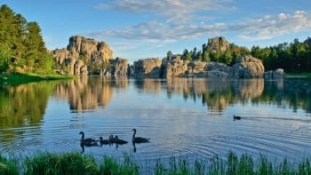 Custer State Park, Sylvan Lake