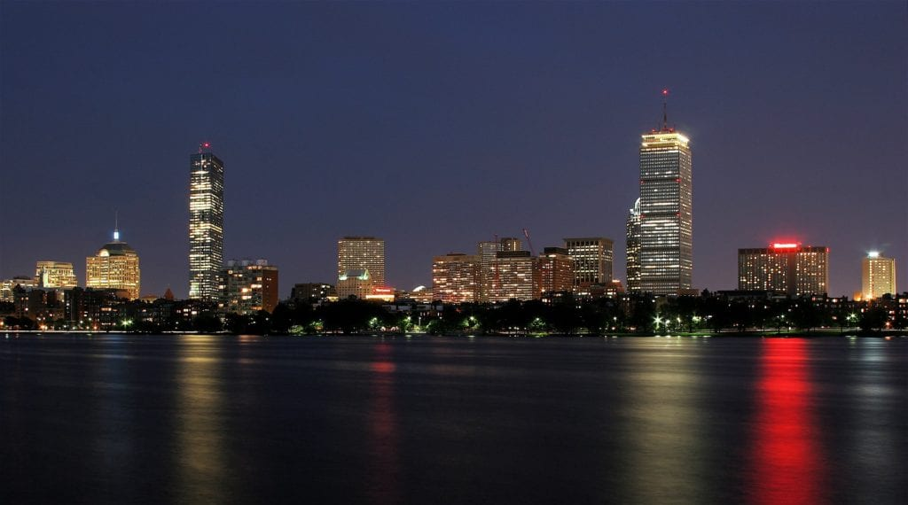 Fim free things to do in Boston: Look at the gorgeous skyline.