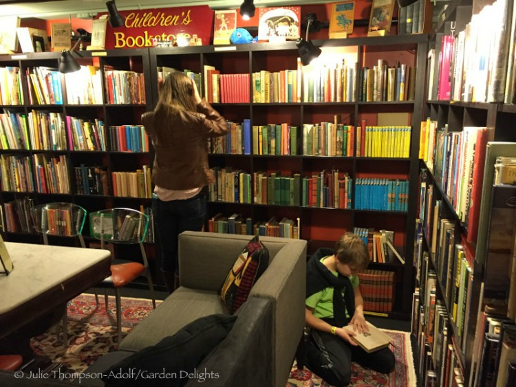 An amazing selection of both books and Champagne await you at Battery Park Book Exchange and Champagne Bar.
