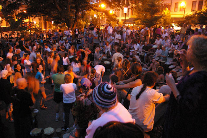 Drum Circle - Free in Asheville NC