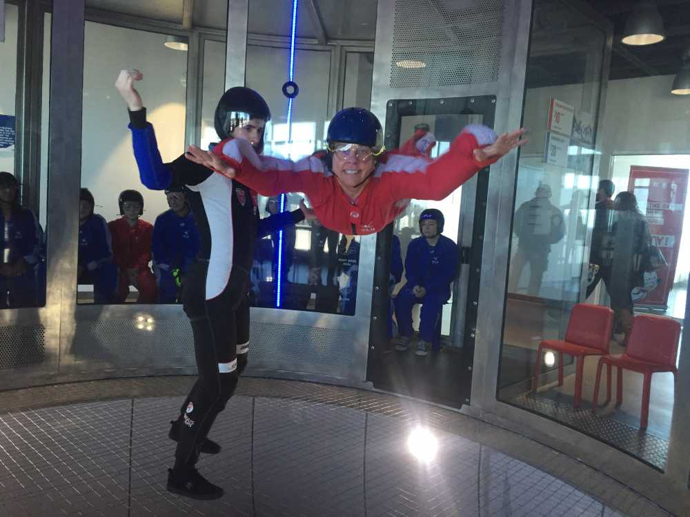 iFLY.SLAWOFF Family Fun in Toronto
