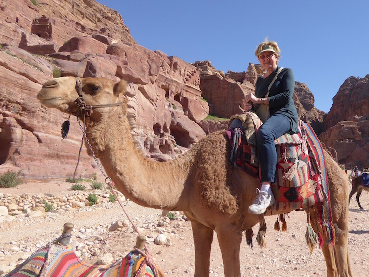 Don't let urinary incontinence keep you from doing anything, including riding a camel in Jordan.