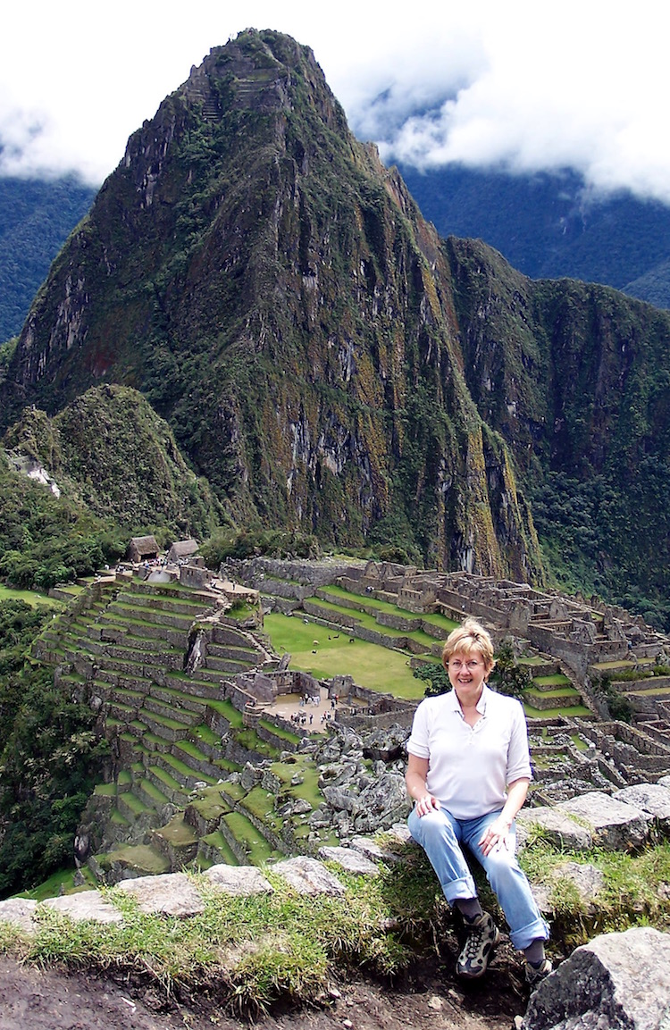 Machu Picchu is another natural resource in danger of being lost.