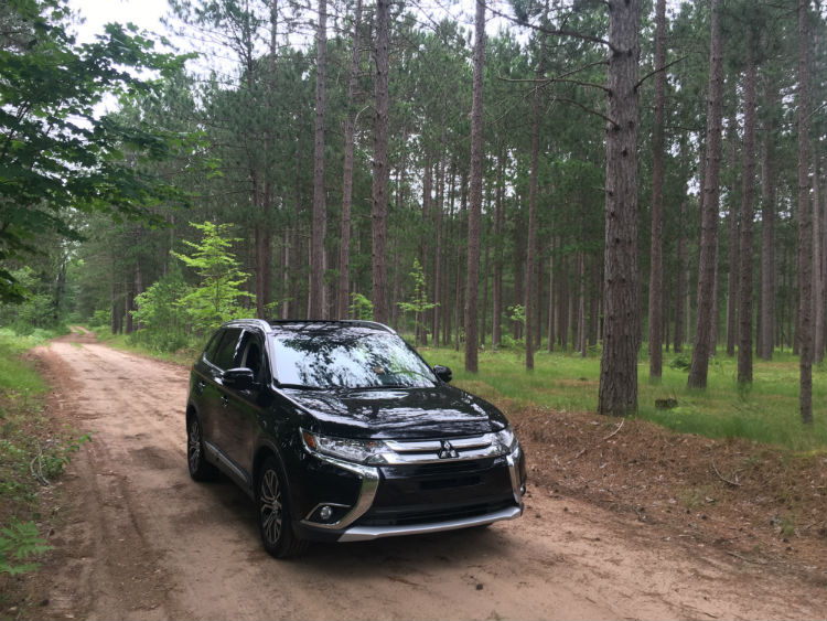 The Outlander offered a comfort and safety during a journey from Wisconsin to Traverse City and Sleeping Bear Dunes. Travel with baby was a breeze.