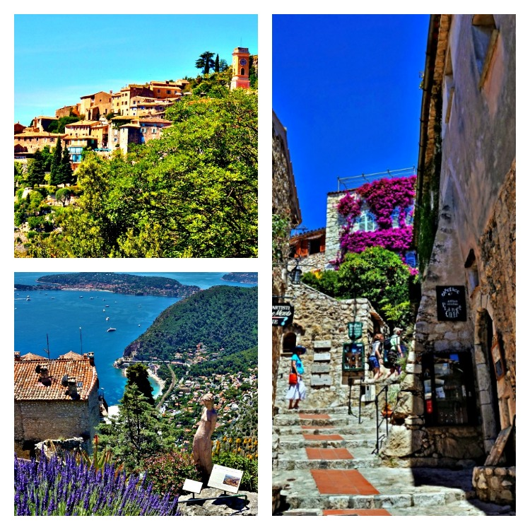 Lavender fields in Provence France - how to plan a trip. Eze, Provence.