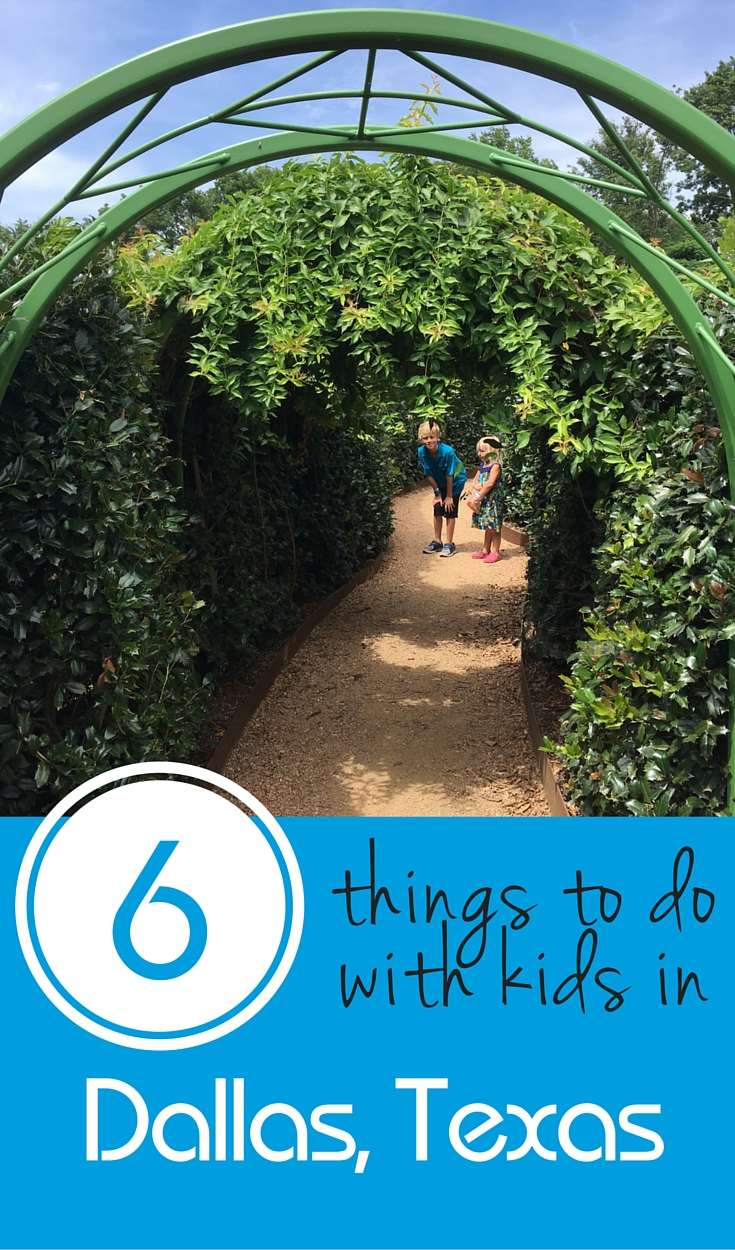 6 Things to do in Dallas with Kids