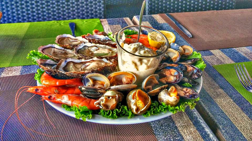Seafood plate Cassis, Provence
