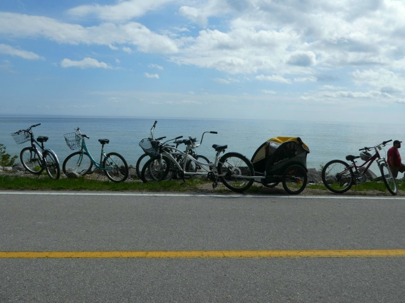 Tips for Bike Riding Mackinac Island Michigan