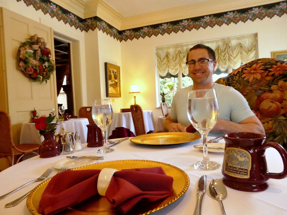 Breakfast at Buhl Mansion.Photo Credit: Karyn Locke/Road Trip TravelingMom