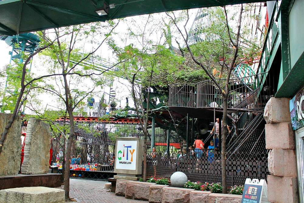 Located in St. Louis, the City Museum is 1 of 9 Not-To-Miss Kid Friendly Missouri Museums