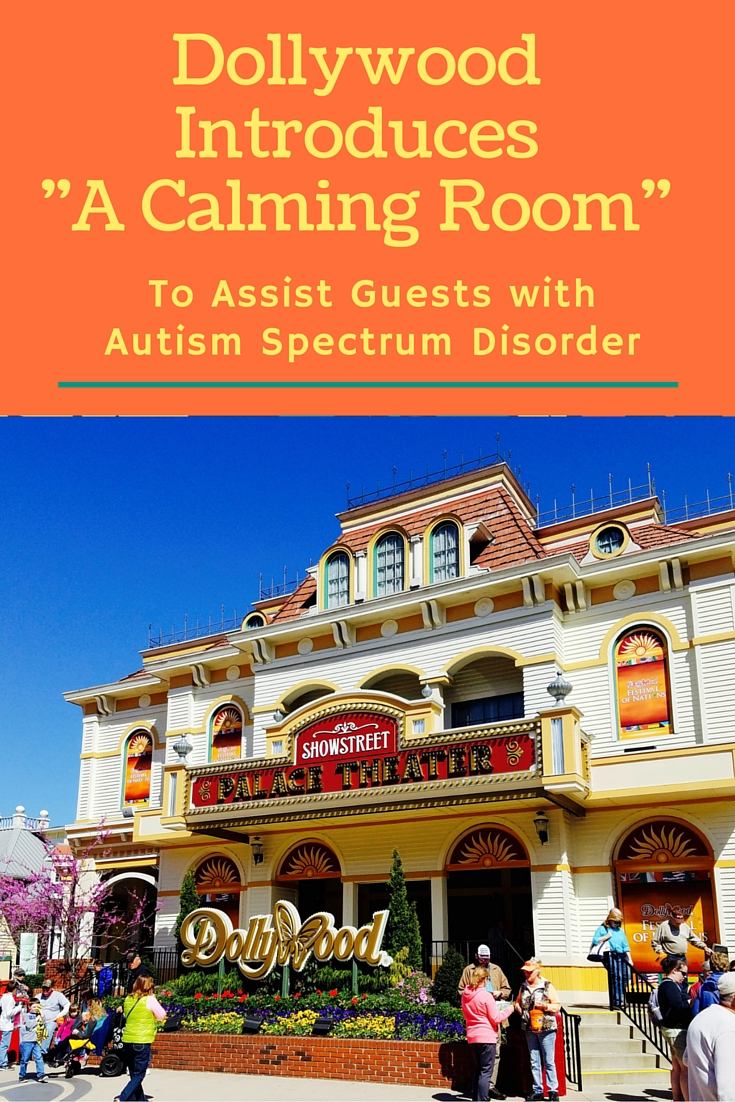 Dollywood Theme Park Serves Autism Guests with A Calming Room. Photo credit: Storytelling TMOM Teronya Holmes