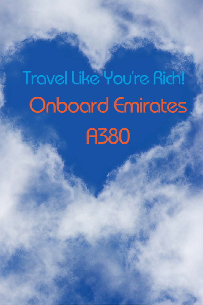 See luxury travel the way the 1 Percent does it with a glimpse inside an Emirates A380, complete with shower spa. Photo by Pixabay